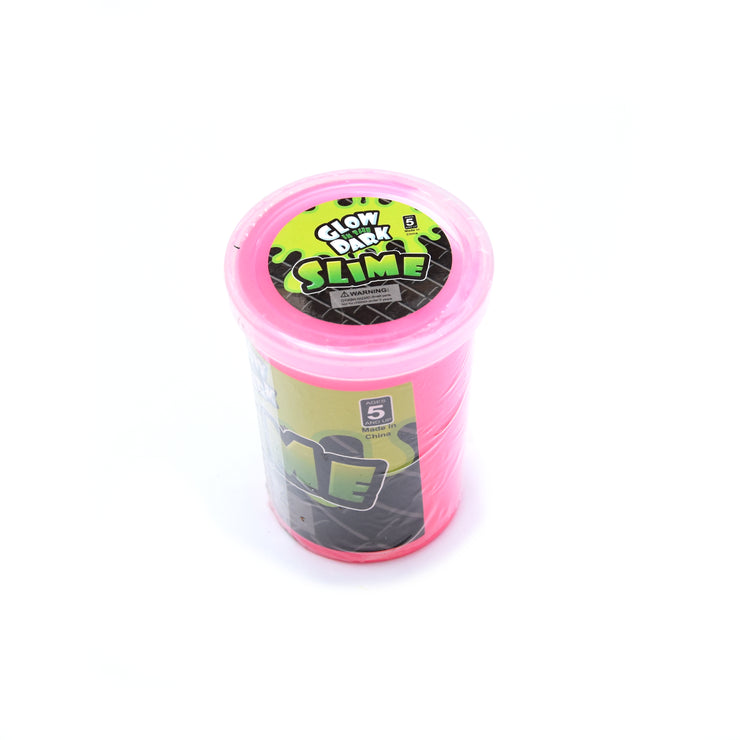 Glow In The Dark Slime - Assorted Colour, 1Pc
