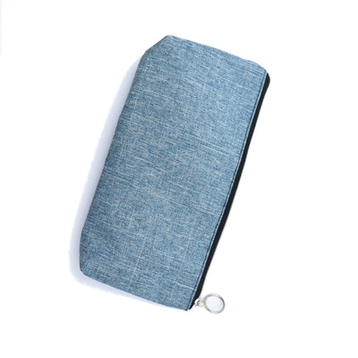 Zipper Pouch - Smokey Blue, 1Pc