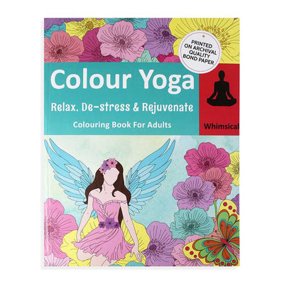 Colouring Book For Adults - Whimsical, 1pc
