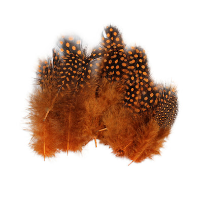 Boho Feathers 15pcs - Orange