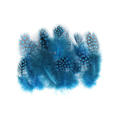 Boho Feathers 15pcs - Blue