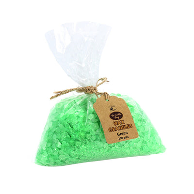Wax Granules 200gm- Green