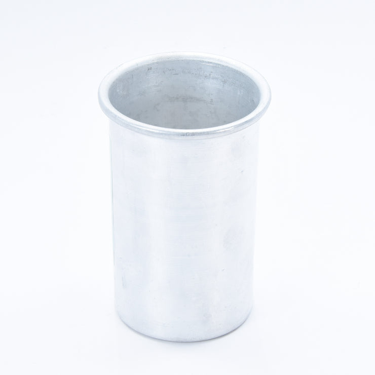 Aluminium Pillar Candle Mould 7.5 x 13 cm 1Pc