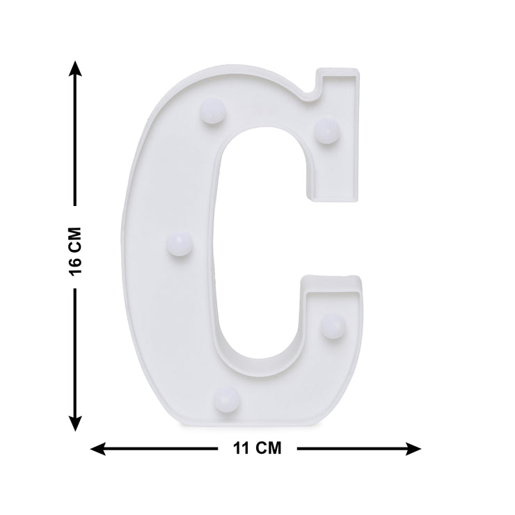Led Marquee Letter C - 1pc