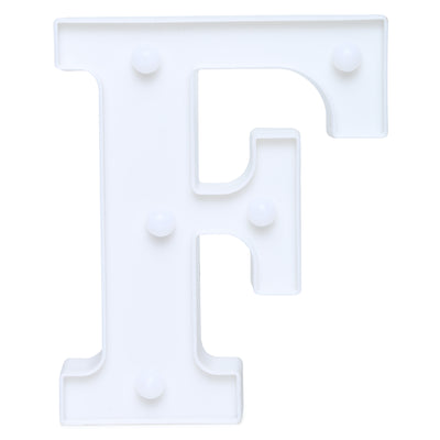 Led Marquee Letter F - 1pc
