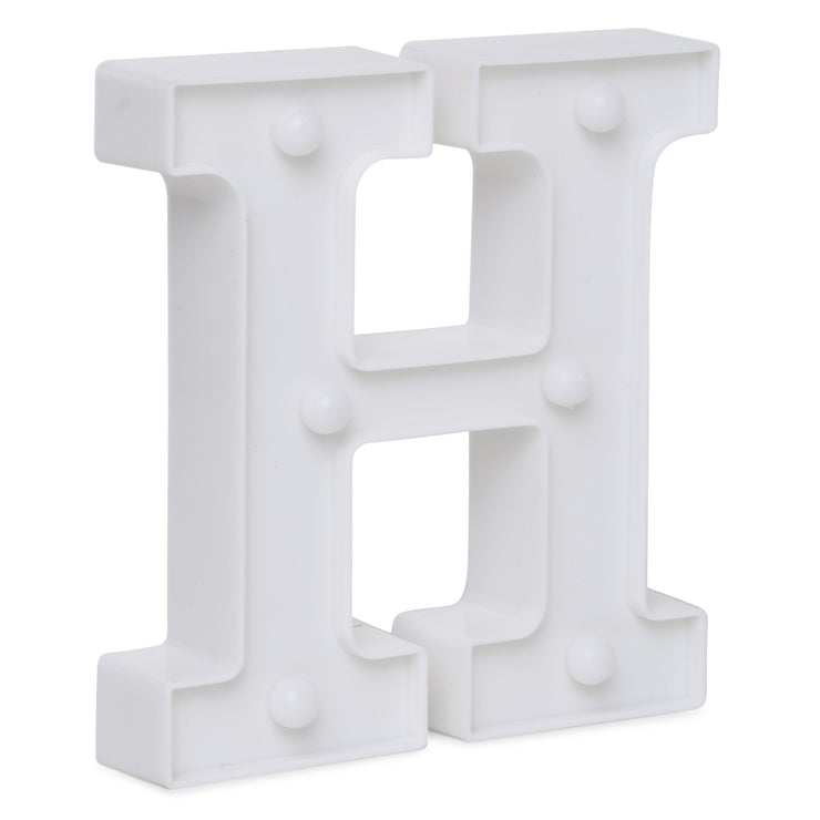 Led Marquee Letter H - 1pc