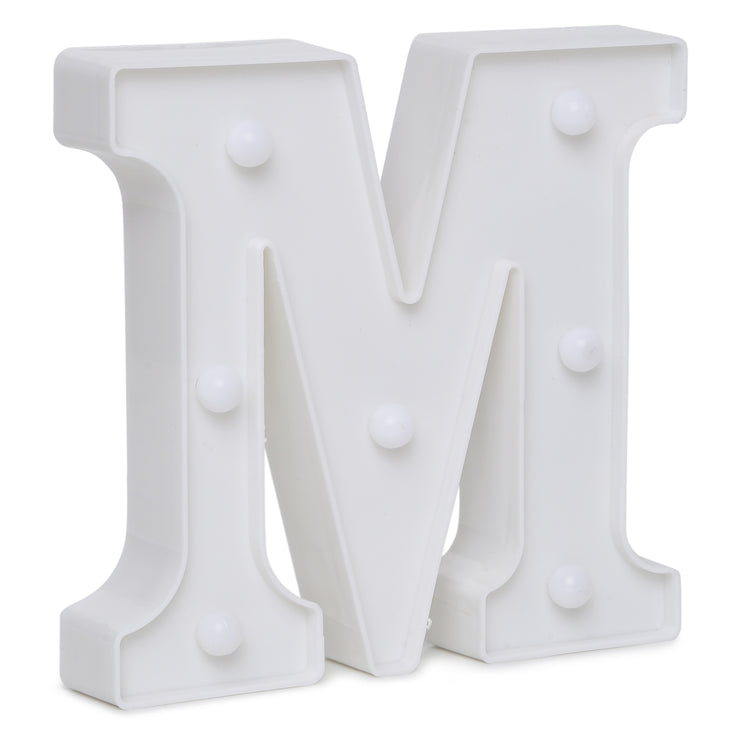Led Marquee Letter M - 1pc