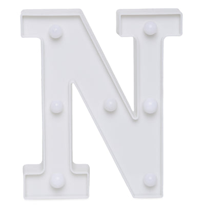 Led Marquee Letter N - 1pc