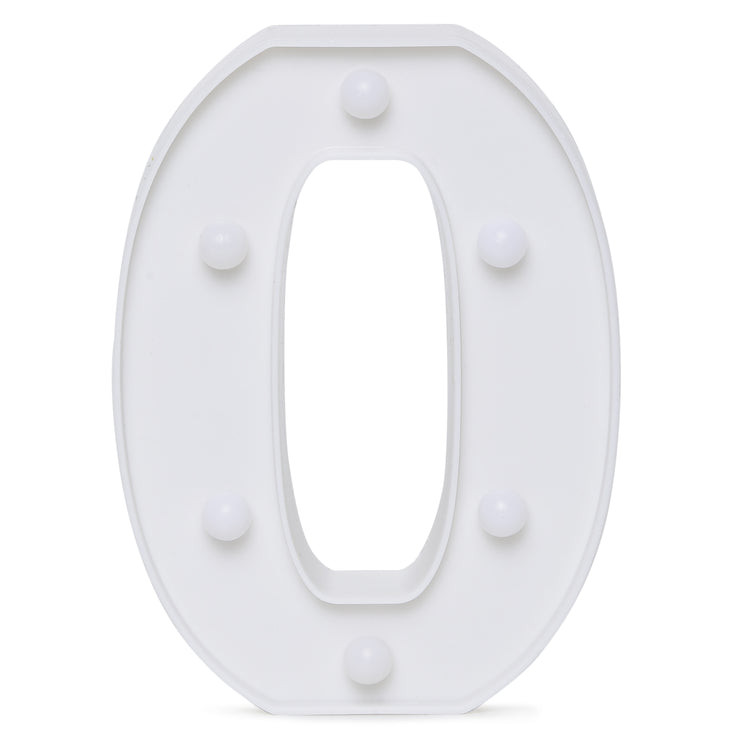 Led Marquee Letter O - 1pc