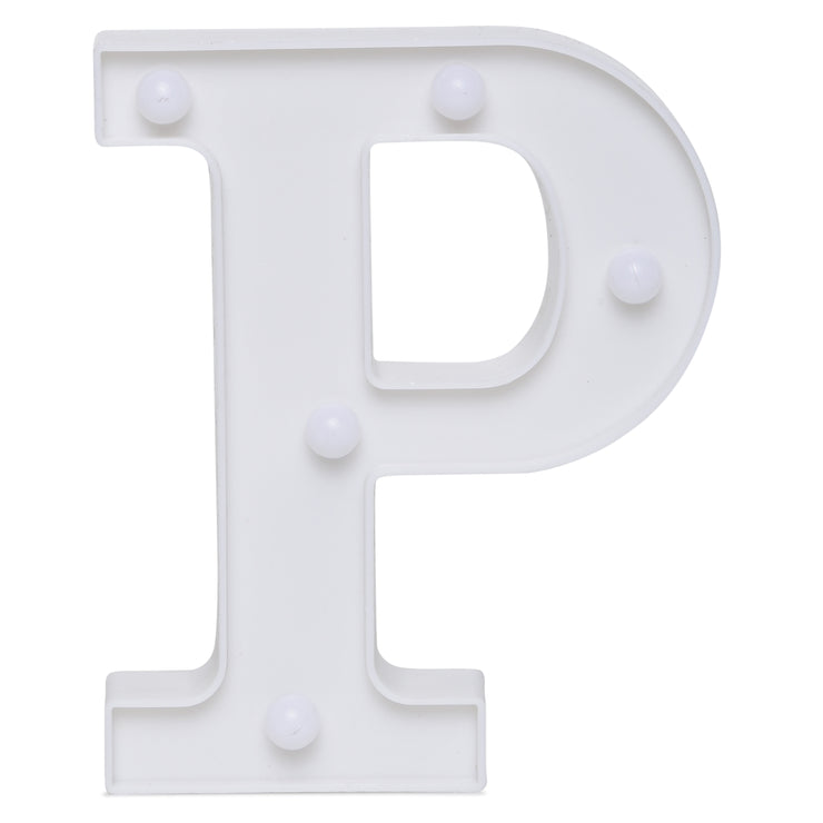 Led Marquee Letter P - 1pc
