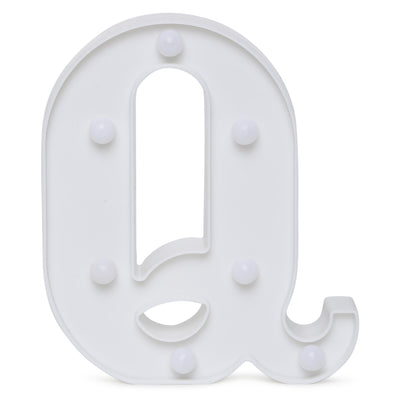 Led Marquee Letter Q - 1pc
