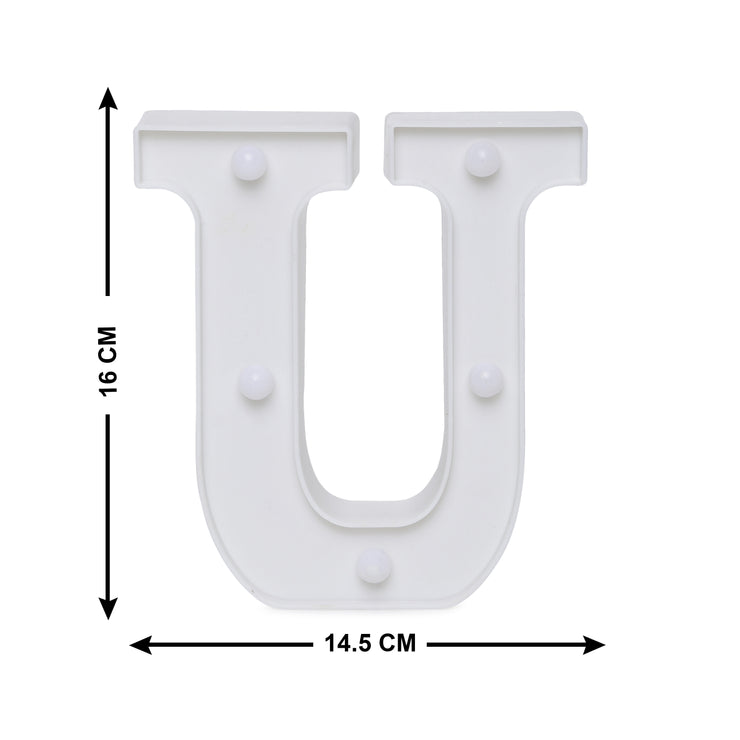 Led Marquee Letter U - 1pc