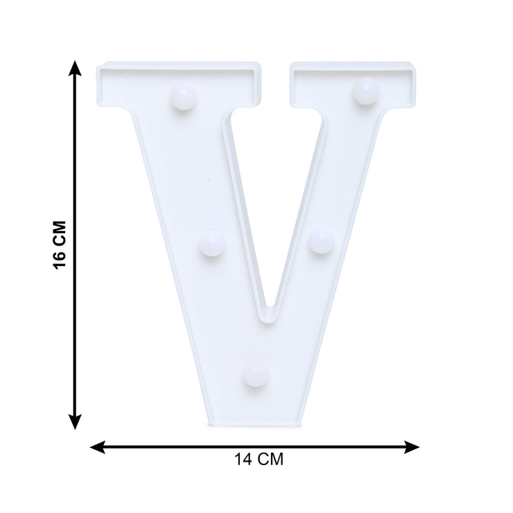 Led Marquee Letter V - 1pc