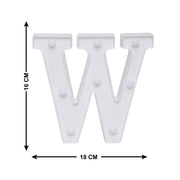 Led Marquee Letter W - 1pc