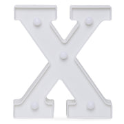 Led Marquee Letter X - 1pc
