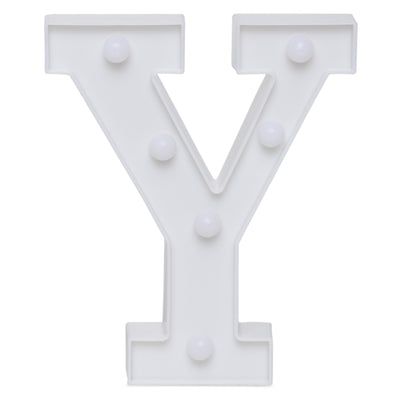 Led Marquee Letter Y - 1pc