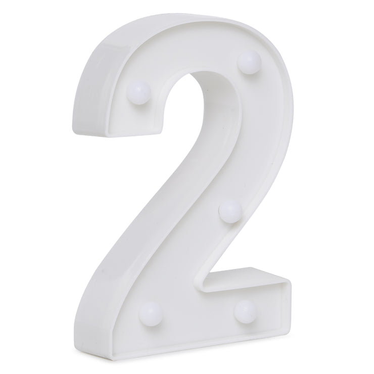 Led Marquee Number 2 - 1pc
