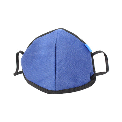 Reusable Fabric Face Mask - Comet Blue, 1Pc