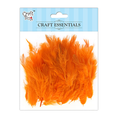 Feathers 90pcs - Dark Orange