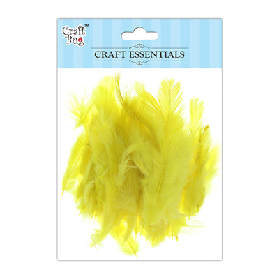 Feathers 90pcs - Dark Yellow
