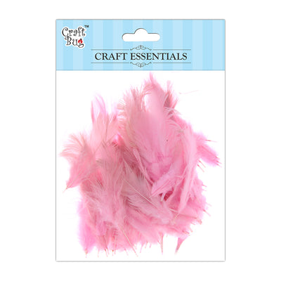 Feathers 90pcs - Light Pink