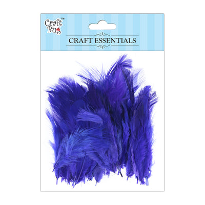 Feathers 90pcs - Dark Purple