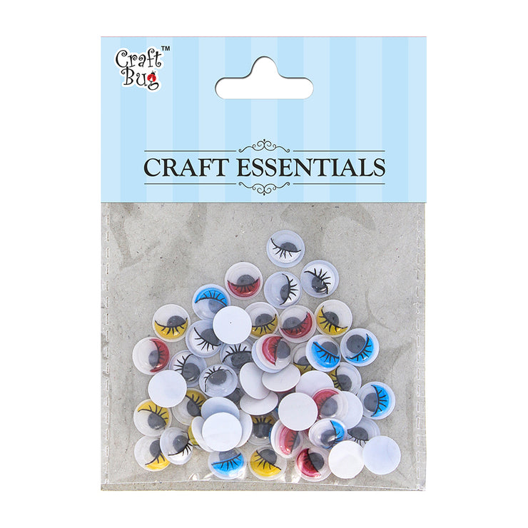 Googly Eyes - Assorted 50pcs