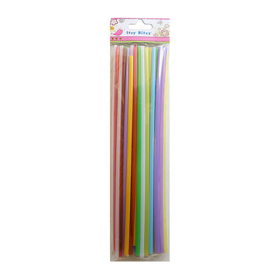 Straw 50pcs - Assorted Colour