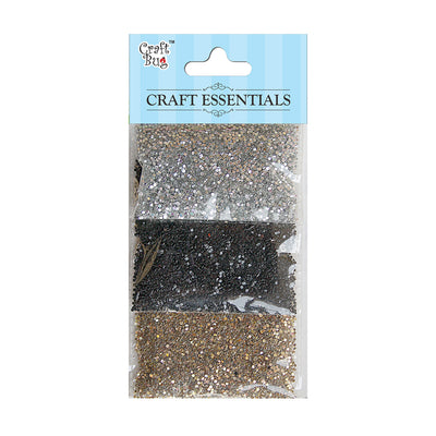 Sparkle Dots Layer Pack 30gm - Copper/Silver/Black