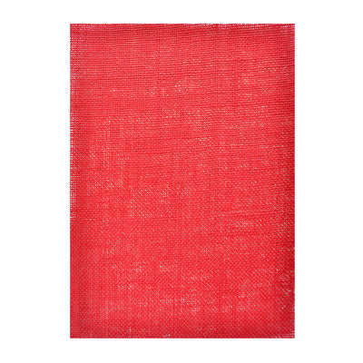 Jute Laminated - Crimson Red A4, 1Sheet