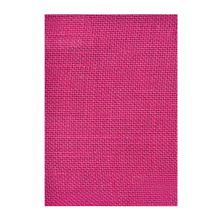 Jute Laminated - Hot Pink A4, 1Sheet