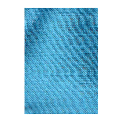 Jute Laminated - Deep Turquoise A4, 1Sheet
