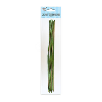 Flower Making Stem 5 pcs- Green
