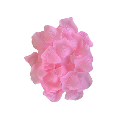 Fabric Flower Petal 30pcs- Baby Pink