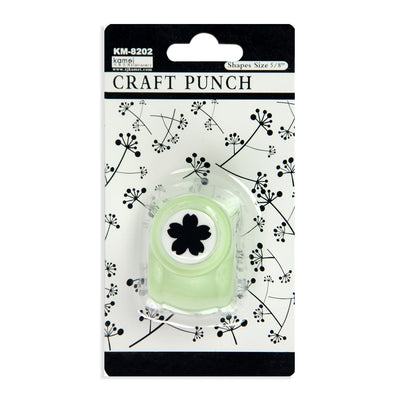 Craft Punch - Flower 5/8Inch, 5 Petal ,1 Pc