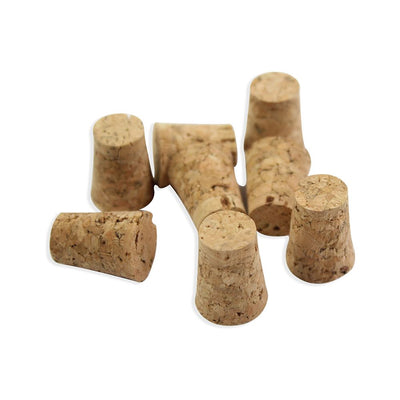 Tapered Cork Stopper -8pcs