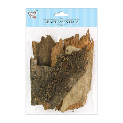 Wooden Bark 250gm- Assorted size