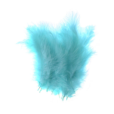 Feathers - Soft Teal, 20pc