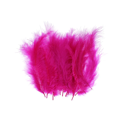 Feathers - Hot Pink, 20pc