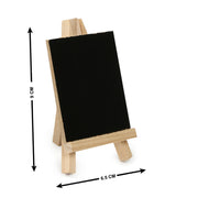 Mini Chalkboard with Wooden Easel -9X6X0.4cm, 1pc