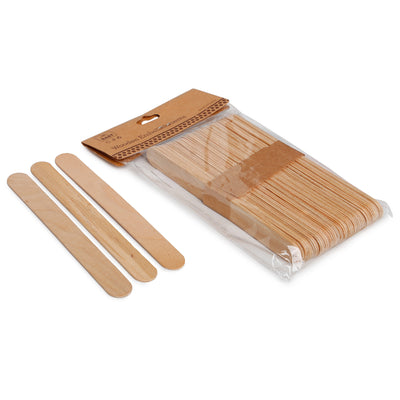 Ice Cream Stick- Natural, 15X1.8cm, 50pc