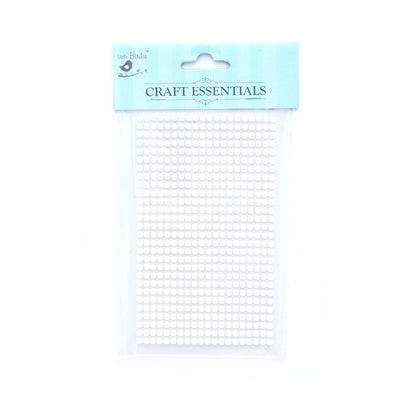 Half Pearl - White, 4Mm, 28Strips, 560Pcs, 1Pk