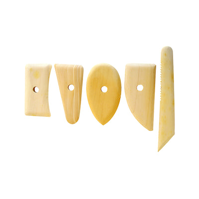 Wooden Potter's Ribs -5pcs