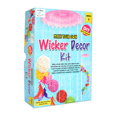 DIY Wicker Decor Kit