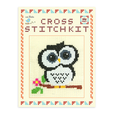 Cross Stitch Kit- Owl