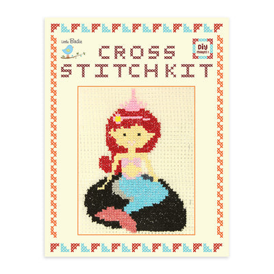 Cross Stitch Kit- Mermaid