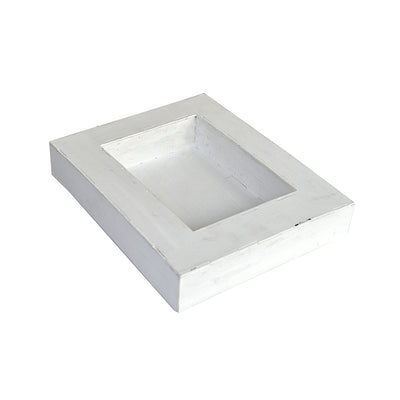 White Washed Alterable- Photo Frame
