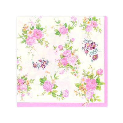 Decoupage Napkin 12x12 inch- Pinky Roses