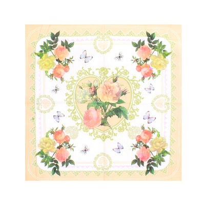 Decoupage Napkin 12x12 inch- Romantic Rose