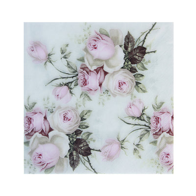 Decoupage Napkin 12x12 inch- Rose Brilliance
